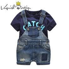Child <b>Newborn Baby</b> Boy Summer <b>Clothing</b> Set Letter <b>Feather</b>