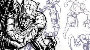 DYNAMIC <b>FIGURE DRAWING</b>! - <b>Comic</b> Art Pose Tutorial (Feat ...