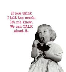 Image result for words with pictures about talking too much