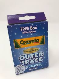 <b>Crayola</b> Crayons <b>Outer Space</b> 8 Count Non Toxic Assorted Colors ...