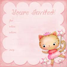 doc printable birthday party invitations for slumber party birthday invitations for girls invitations templates printable birthday party invitations for teenagers