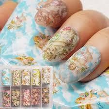Купить <b>наклейки для ногтей</b> ангел от 259 руб — бесплатная ...