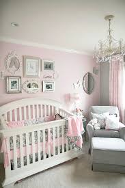 baby nursery adorable pink gray baby room decor vintage crystal chandelier pink stained wall nursery curtain adorable pink chandelier