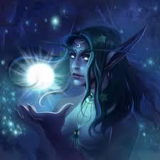 Tyrande Whisperwind from World of Warcraft, Dzikawa - ArtStation