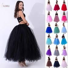 <b>Long Bridal Wedding Petticoat</b> Crinoline Ball Gown <b>Skirt Underskirt</b> ...