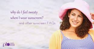 Why does my face sweat after applying <b>sunscreen</b>? And 5 other ...