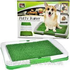 <b>Туалет</b> для собак <b>Puppy Potty</b> Pad, размеры: 47х34х6 см ...