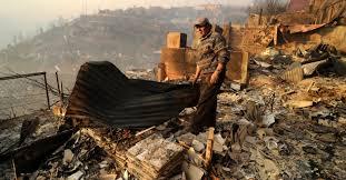 Resultado de imagen para fotos del incendio en el morro