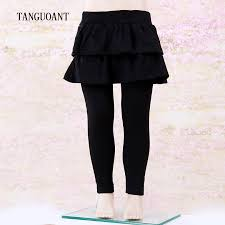 TANGUOANT <b>Girls</b> Skirt <b>Pants Autumn Winter Girls Leggings</b> with ...