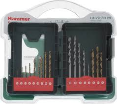 "<b>Набор сверл по металлу</b> и камню Hammer ""Flex 202-921 DR"", Set ..."