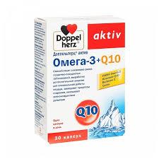 <b>Доппельгерц актив омега</b>-<b>3</b> + q10 капс. 1625мг №30 — купить по ...