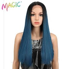 "<b>Magic Hair 20""Inch</b> Synthetic Straight <b>Hair</b> Lace Front Wig Natural ..."
