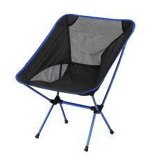 Portable Collapsible <b>Chair</b> Outdoor BBQ Beach Fishing <b>Camping</b> ...
