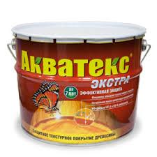 Защитное <b>текстурное покрытие</b> древесины <b>Акватекс ЭКСТРА</b> ...