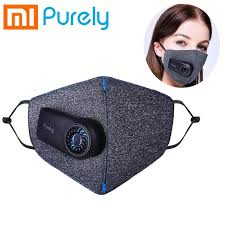Xiaomi <b>Purely</b> Rechargeable Electric Fan Face Mask <b>Anti</b>-Pollution ...