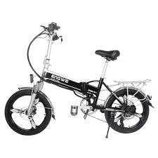 <b>ENGWE GL5 400W Folding</b> Electric Bike with 48V 12.5AH ...
