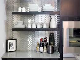 kitchen backsplash stainless steel tiles: stainless steel tile backsplashes hkitc kitchen stainless steel tile backsplashes sxjpgrendhgtvcom