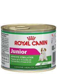 <b>ROYAL CANIN</b> JUNIOR <b>консервы</b> 195 г для щенков мелких пород ...