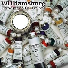 Williamsburg <b>Handmade Oil</b> Paint - Artist <b>Oils</b> - <b>Oil Color</b> - Paint