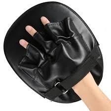 <b>Sanda Boxing Gloves Pads</b> Hand Target Pad Muay Thai Kick Focus ...