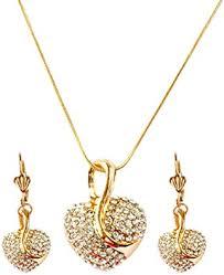 koueja101 Necklace&Jewelry <b>Sets 2Pcs</b>/<b>Set</b> Women Full ...