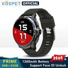 <b>KOSPET Prime</b> 3GB 32GB Smart Watch Men 1260mAh Dual ...