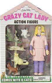 Accoutrements Crazy Cat Lady Action Figure ... - Amazon.com