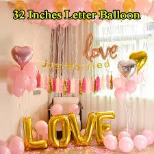 Promotional <b>1 PCS</b> Big Helium Foil Valentine Graduation Wedding ...