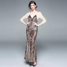 <b>ARiby</b> 2019 Spring New <b>Women Dress</b> Vintage Elegant Leopard ...
