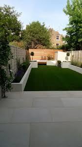 modern garden decor lawn