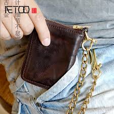 <b>AETOO Original handmade</b> leather wallet short vegetable tanned ...