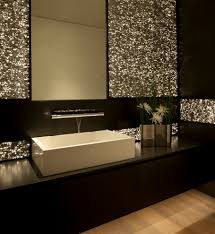 guest bathroom modern rooms contemporary powder room idea in orange county with a vessel sink and
