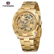 Buy Forsining <b>Men Luxury Skeleton Automatic</b> Winding Mechanical ...