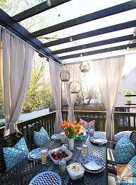 deck decorating ideas a pergola lights and outdoor curtains blog 3 deck accent lighting