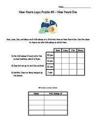 Christmas Critical Thinking Logic Puzzles   The At Home Educator SlideShare
