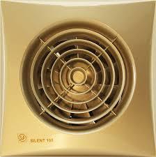 <b>Вытяжной вентилятор Soler&Palau Silent-100</b> CZ gold купить в ...