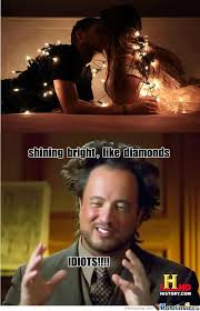Shining Bright Like Diamonds by emmily - Meme Center via Relatably.com