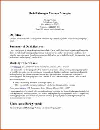 6 cv for s and retail budget template letter retail manager resume example retail manager resume example