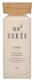 Balhyo Nokdu Pure Emulsion <b>Очищающая эмульсия для лица</b> ...