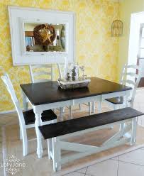Lane Dining Room Sets Painting The Dining Room Table A Survivors Story Honeybear Lane