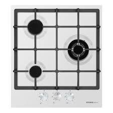 <b>Газовая варочная панель HOMSair</b> HGE433TGCWH — купить в ...