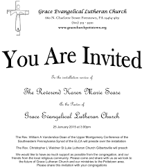 letter from pastor clipart clipartfest pastor installation invitation