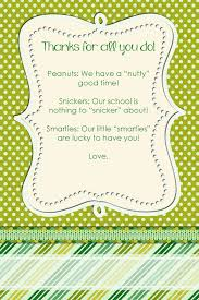 candy thank you notes for teachers staff squarehead teachers green candy thank you notes