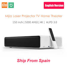 English Version Xiaomi <b>Mijia</b> Ultra Short Throw <b>Laser Projector</b> 150 ...
