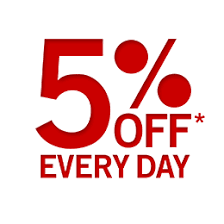 Image result for 5 % off