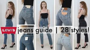 The ultimate try-on guide to <b>women's</b> Levi's jeans | EVERY STYLE ...