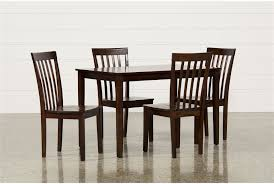 wicker bar height dining table: carson ii  piece dining set main