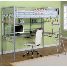 most seen images in the amazing metal bunk bed with desk designs gallery amazing loft bed desk