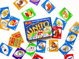 Унито (для <b>детей</b>), настольная <b>игра</b>, <b>Ranok</b> Creative - купить в ...