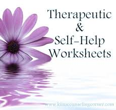 Therapy and Self-Help Worksheets - Kim